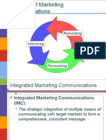 Communication and Promotion Mix