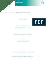 Unidad 4. Relacion Entre La Fisiologia Animal y Vegetal en La Biotecnologia