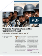 Winning Afghanistan at the Community Level (Kolenda)