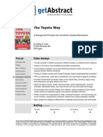 Toyota way - short version