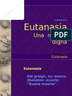EUTANASIA conferencia