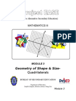 Module 3 - Geometry of Shape and Size-Quadrilaterals.doc