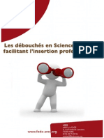 Les débouchés en sciences sociales facilitant l'insertion pro