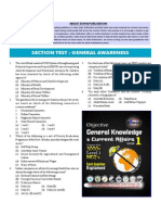 General Awareness Section Test.pdf