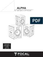 Focal Alpha manual