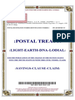 Postal Treaty of Light Earth DNA Lodial