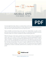 Mobile Apps for Smart Cities