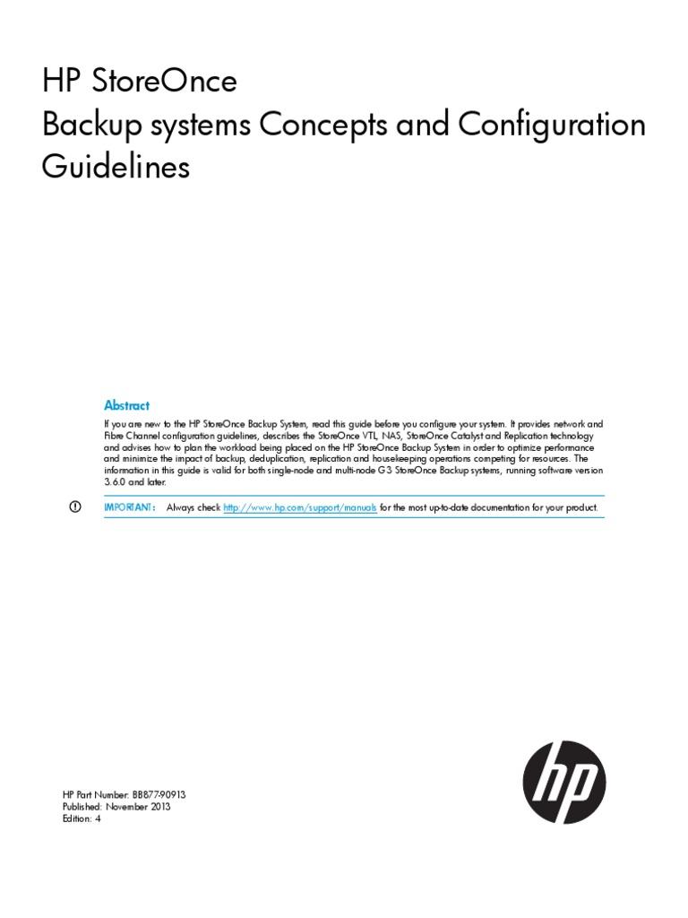 Array - hp d2d backup concepts  u0026 guide   replication  computing      rh   scribd com