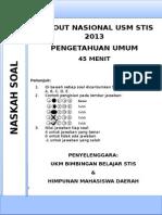 Tonas Pengetahuan Umum 2013