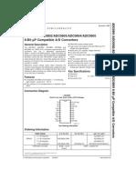 datasheet ADC0801-ADC0805