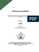 Stroke & Diabetes