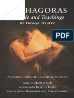 Pythagoras, His Life and Teachings - Thomas Stanley