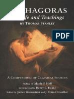 Pythagoras, His Life and Teachings - Thomas Stanley