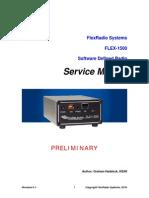 FLEX-1500 Service Manual - V 0.1