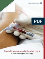 Avoiding Preanalysis Errors