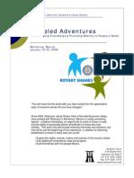 Wheeled Adventures Monterrey Program
