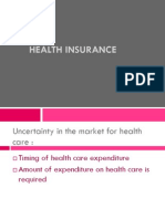 Financing Health Care and Health Insurance