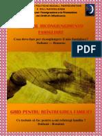 Guida Ricongiungimenti Italiano Rumeno
