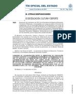 Financiación de FP Básica e Itinerarios de ESO en Extremadura