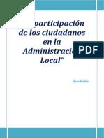 La participación ciudadana en la Administración Local