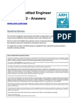 Www.arm.Com Files PDF Mock Test 2 - Answers
