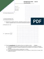 EXAMEN Funciones 2aEV 1o 4ºeso Eras