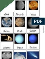 Planet as Juego y Tarjeta s Bilingual