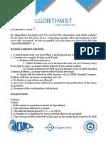 Algorithmist