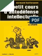 eBook Petit Cours d Autodefense Intellectuelle