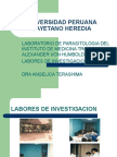 laboratorio de parasitologia