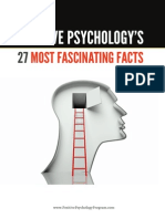 Positive Psychologys 27 Most Fascinating Facts