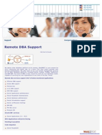 Remote DBA Support-remote DBA Services