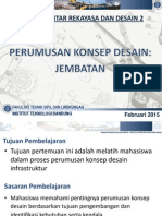 4. KU-1201 PRD2 - Contoh - Pengembangan Konsep Perancangan (Week-4) 2015 FINAL