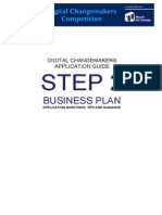 Application Guide Business Plan 2014 Tanzania
