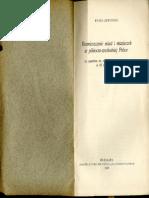 Rozmieszczenie Miast i Miasteczek w Północno-wschodniej Polsce_1939