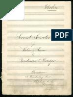 Praeger Violin Sonata No.2 Violinpart