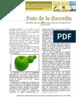 20-EL FRUTO DE LA DISCORDIA.enero 2008