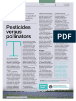 Tension between pollinators and pesticides. RICS Land Journal Spring 2015
