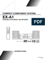 JVC EX-A1 Compact Component System
