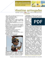 24-MENTIRAS ARRIESGADAS.mayo 2008