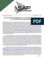 ASAP Press Release 2-23-15
