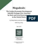 Megadeals Report