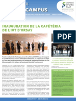 Newsletter Projet Campus 6 BD