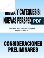 Biblia y Catequesis.