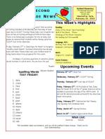 February 20 Newsletter