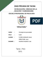 Alfred Adler (Resumen)