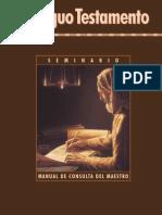 Antiguo Testamento - Manual Del Maestro