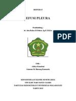 Cover Referat Efusi
