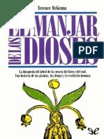 McKenna Terence, El Manjar de Los Dioses. Una Historia de Las Plantas, Las Drogas y La Evolución Humana