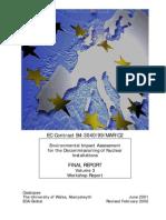 European Decomissioning Document